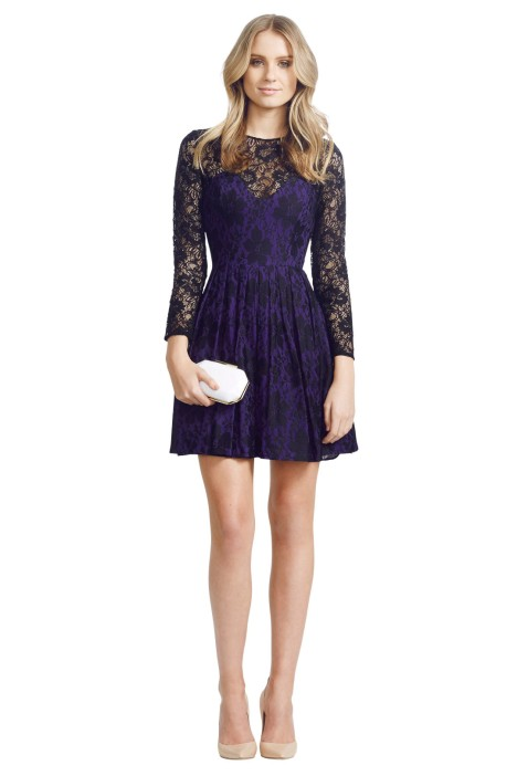 Jayson Brunsdon - Mimi Dress - Front - Purple