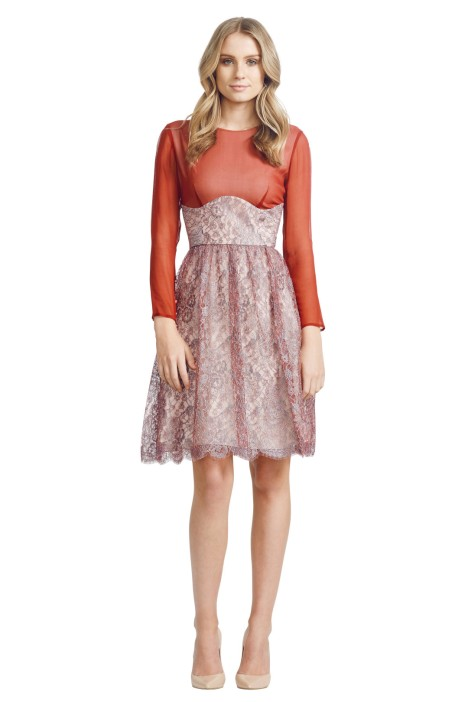 Jayson Brunsdon - Camille Dress - Front - Red