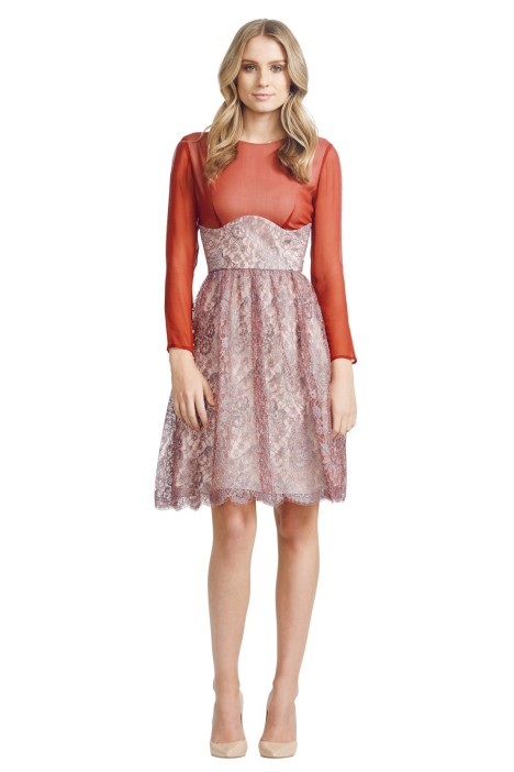 Jayson Brunsdon - Camille Dress - Red - Front