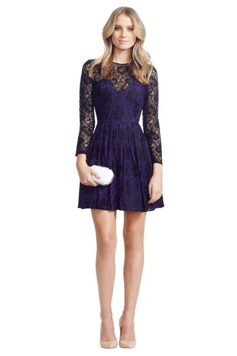 Jayson Brunsdon - Mimi Dress - Purple - Front