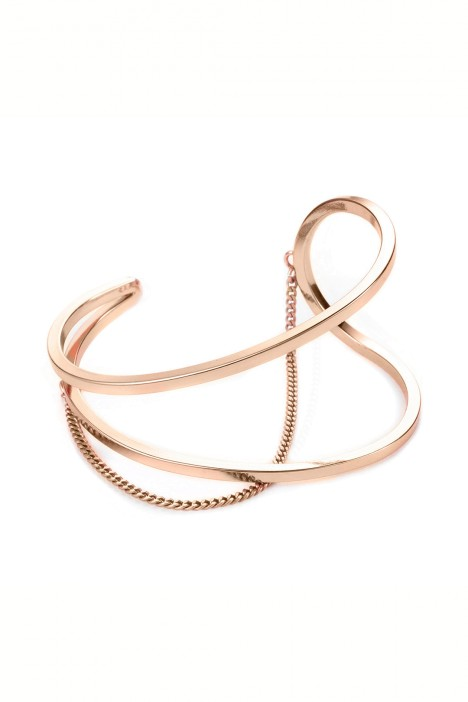 Jenny Bird - River Cuff - Rose Gold - Front