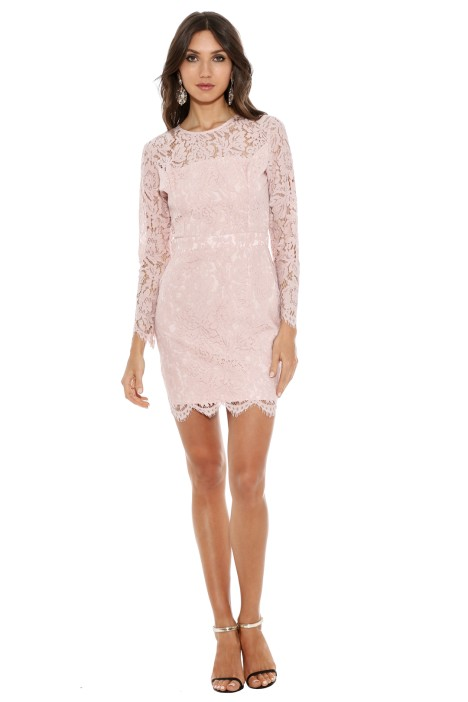 Karla Grimaldi - Carla Lace Mini Dress - Front