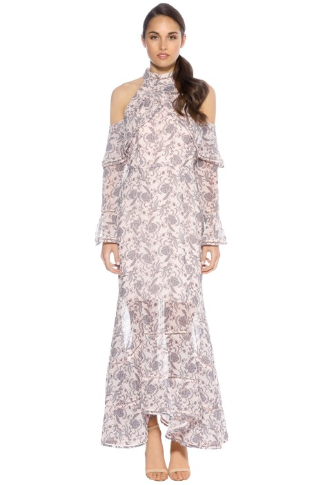 Keepsake the Label - Lovers Holiday Gown - Wallpaper Floral - Front