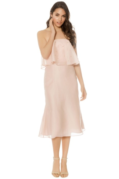 Keepsake The Label - Call Me Dress - Blush - Front