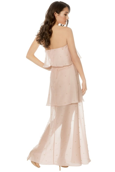 7bb2a95ff4d2 Call Me Gown in Blush by Keepsake for Rent | GlamCorner