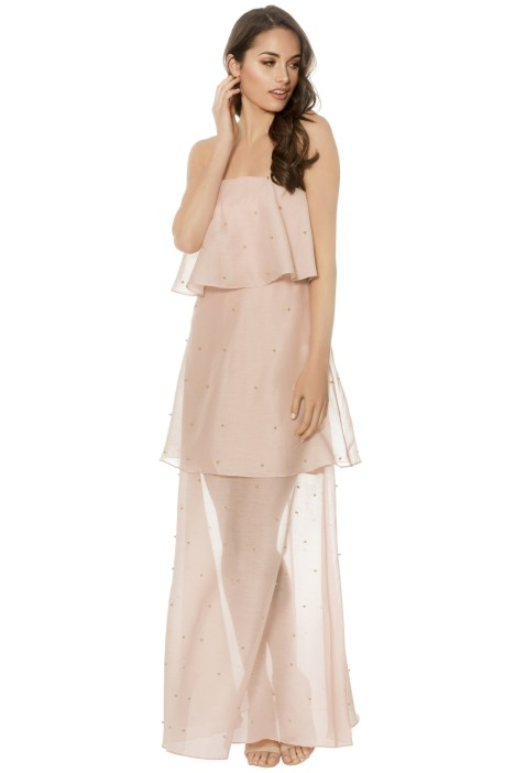 Keepsake The Label - Call Me Gown - Blush - Front