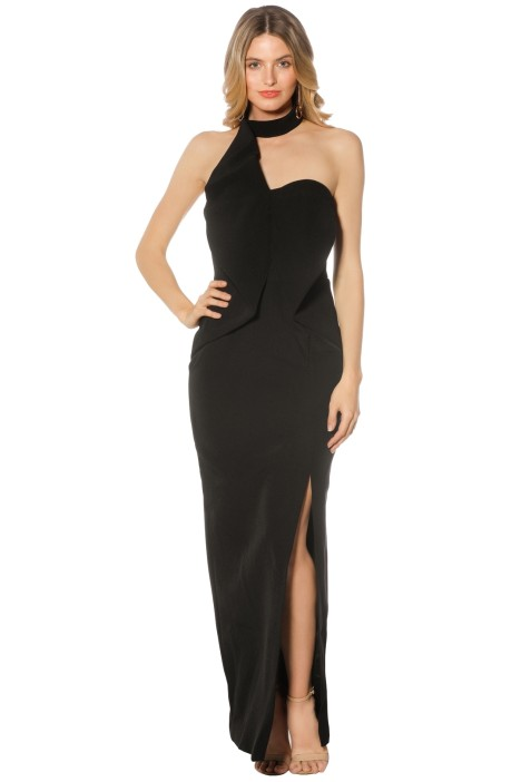 Keepsake The Label - Dance with me Gown - Black - Front