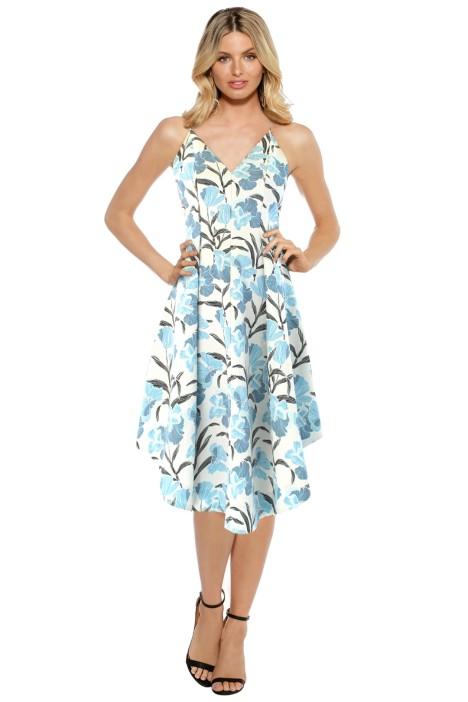 Keepsake the Label - Heart Strong Dress - Blue Print - Front