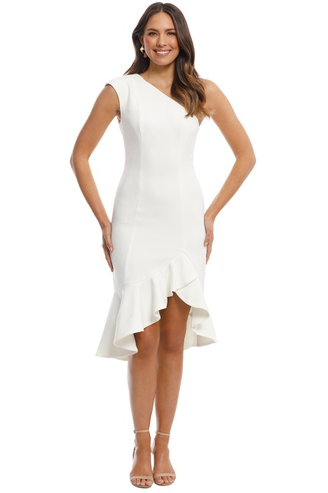 Keepsake the Label - Mirrors Dress - Ivory - Front