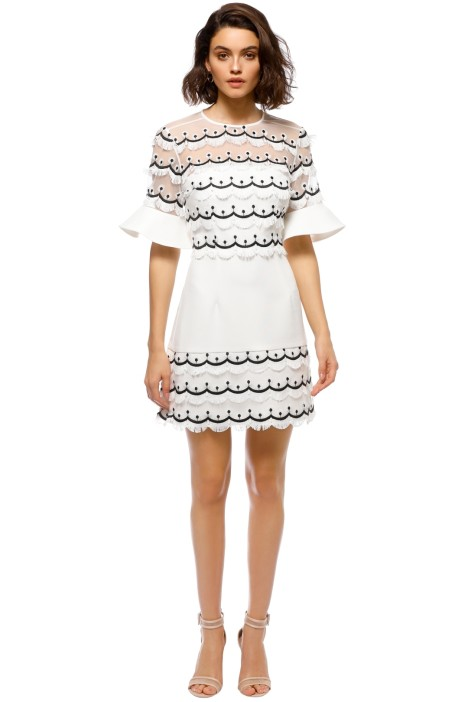 Keepsake the Label - No Promises Mini Dress - Ivory - Front