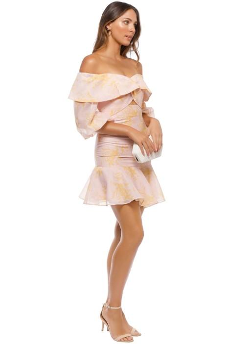 f69fdac0b1 Keepsake the Label - Stand Tall Dress - Blush Floral - Side