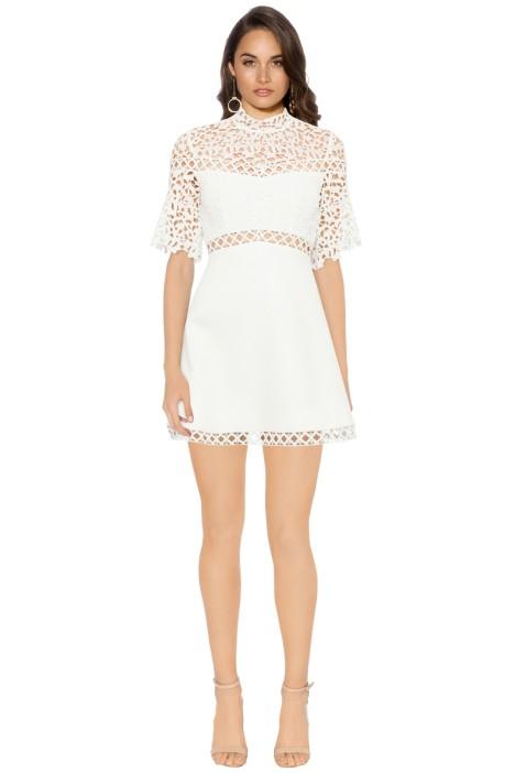 Keepsake The Label - Uplifted Mini Dress - Ivory - Front