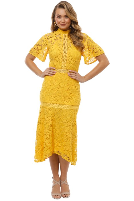 7baf83a80849 Utopia Lace Midi Dress by Keepsake the Label for Rent