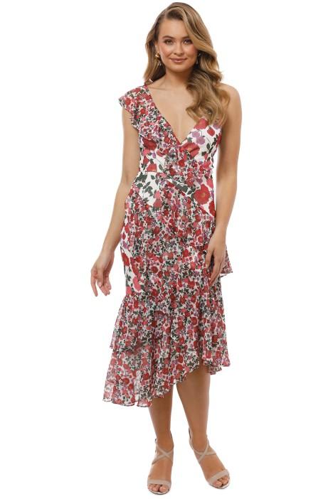 Keepsake the Label - Waves Midi Dress - Lilac Floral - Front