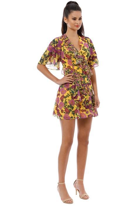 1f8588bb4c773 Keepsake the Label - Waves Mini Dress - Golden Floral - Side
