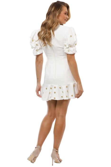 35460d40f926 Starlight Mini Dress in Ivory by Keepsake the Label for Rent