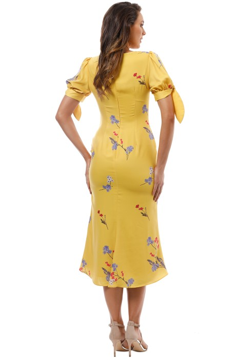3f9ca5cf46bd Keepsake the Label - Hurricane Slip Dress - Yellow - Back
