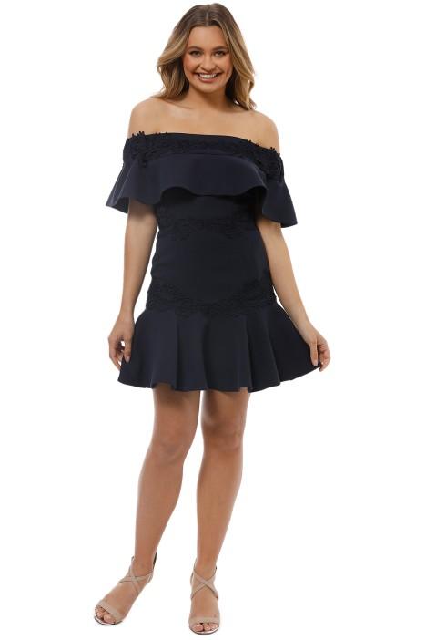 Keepsake The Label - Sweet Dreams Mini Dress - Navy - Front