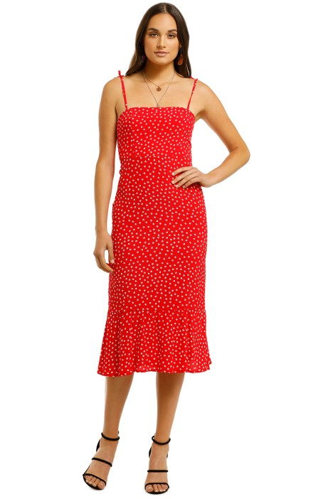 Kookai-Patrice-Tie-Dress-Multi-Front