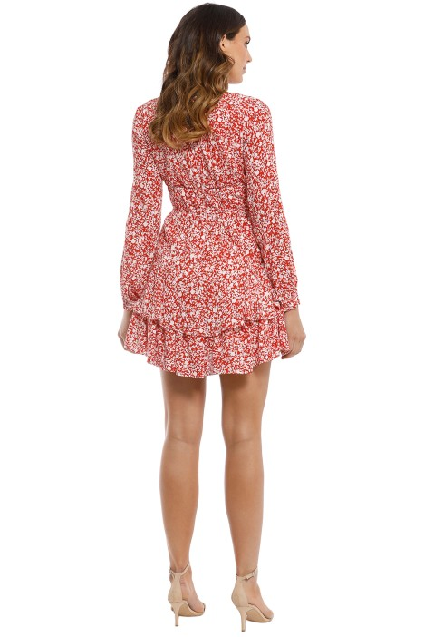 4a505e5ad0 Kookai - Wilshire Mini Dress - Red White - Back