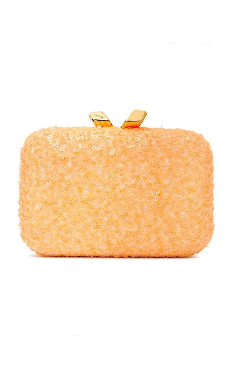Kotur - Margo Clutch - Orange - Front
