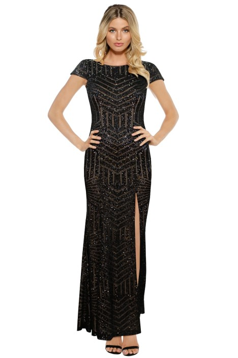 L'Amour - Karla Sequin Gown - Front
