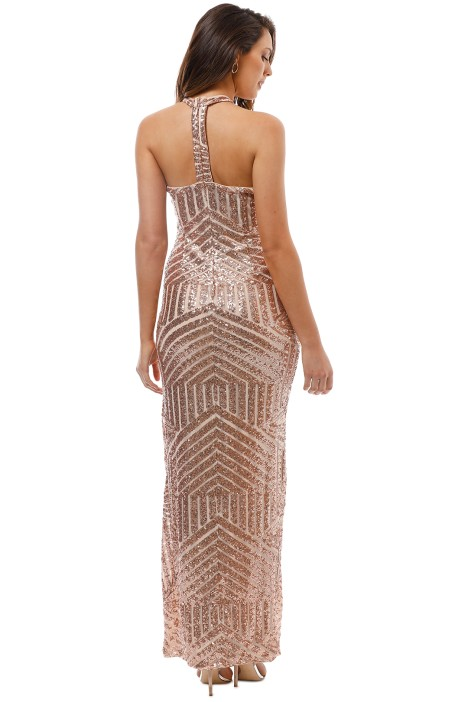 0d0f202c1370 Diana Halter Gown in Blush by L'amour for Hire | GlamCorner