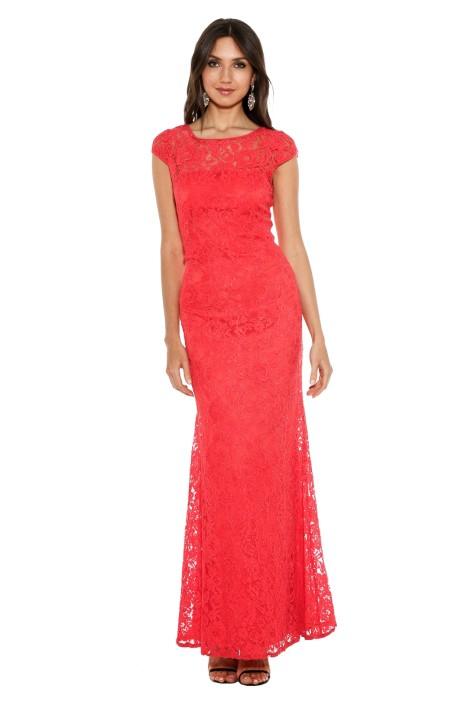 Langhem - Elisa Formal Gown - Red - Front