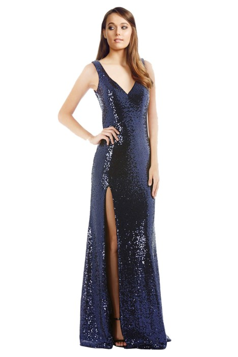 LANGHEM - Love on Top Navy Gown Front