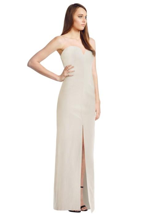 Langhem - Walking Bliss Gown - Cream - Side