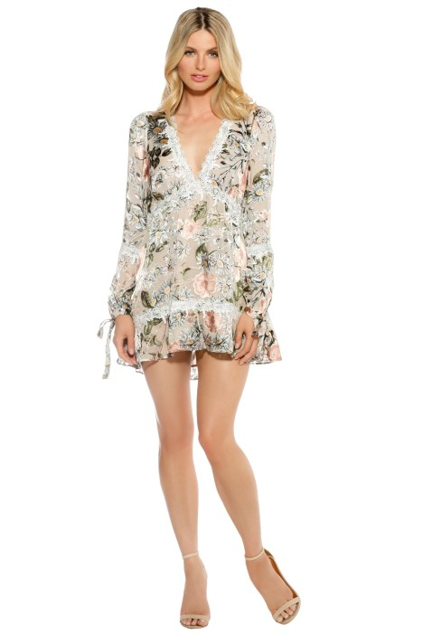 Love And Lemons - Luciana Swing Dress - Floral Print - Front