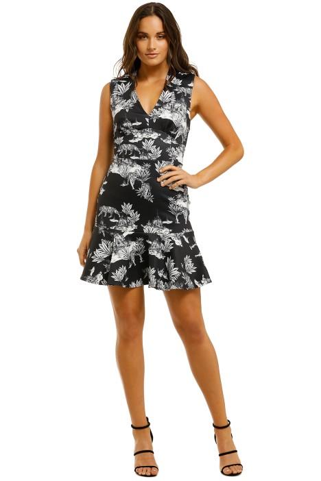 Lover-Wild-Cat-Flip-Dress-Print-Front