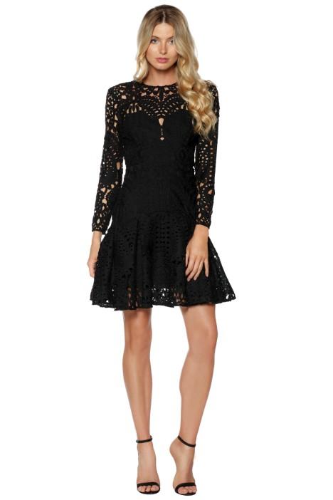 Lover - Harmony Pleat Mini Dress - Front