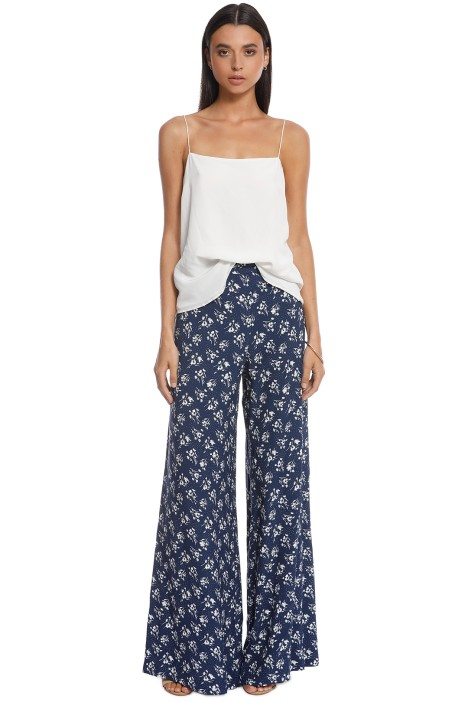 Lover - Mimosa Pant - Navy - Front