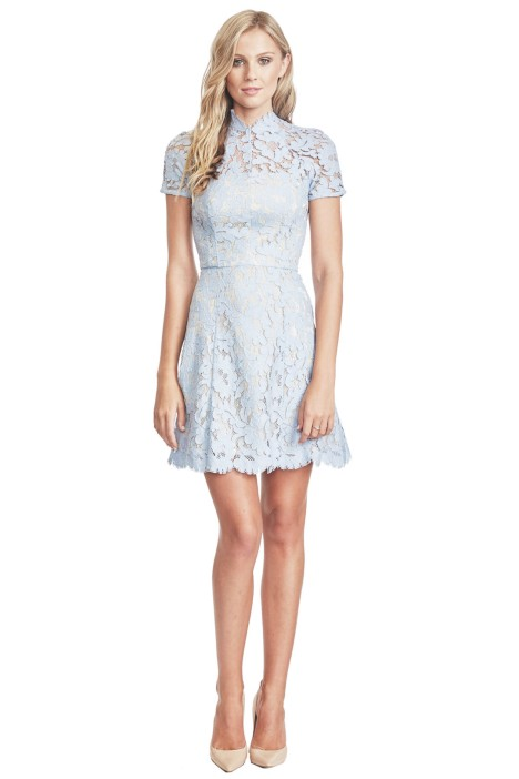 Lover -  Warrior Lace Mini - Front - Powder Blue