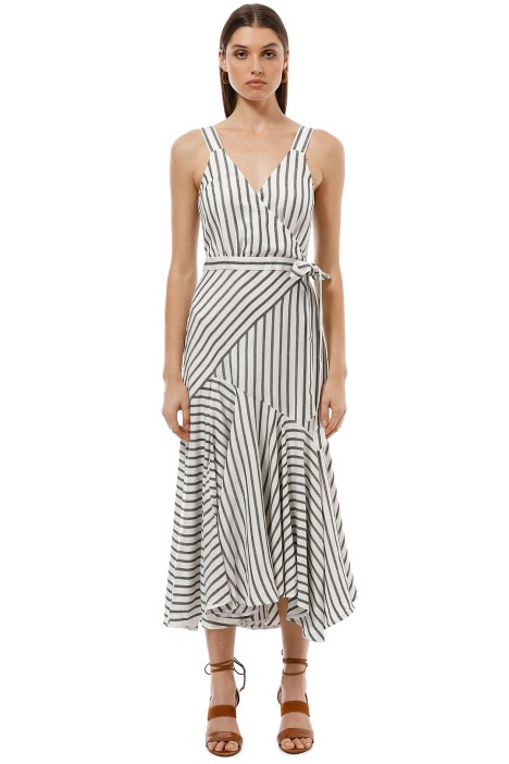 Lover the Label - Marinere Midi Dress - Stripe - Front
