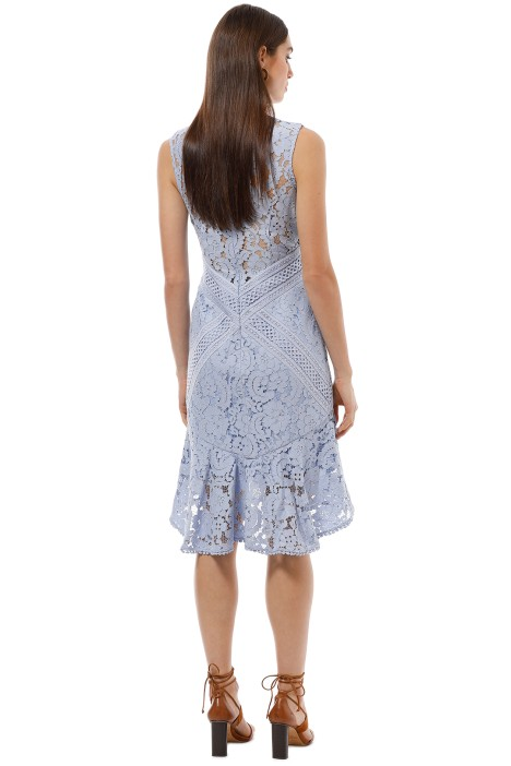 72556db7ff63 Lover the Label - Melody Lace Dress - Blue - Back