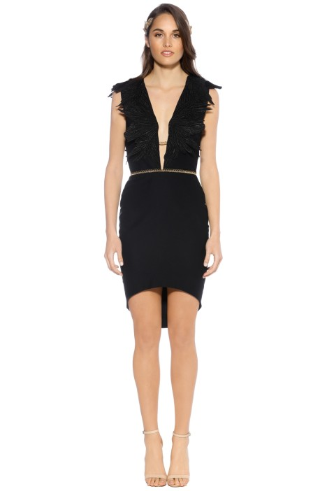 LUOM.O - Dante Dress - Black - Front