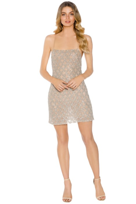 Madame X - Eima Dress - Nude - Front