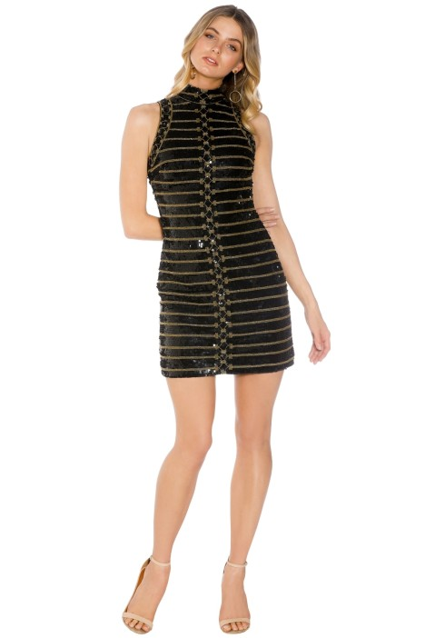 Madame X - Ilona Dress - Black - Front