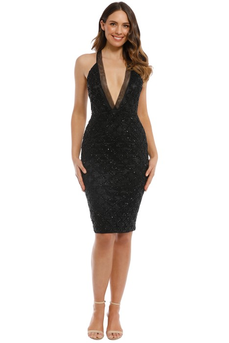 Madame X - Roya Dress - Black - Front