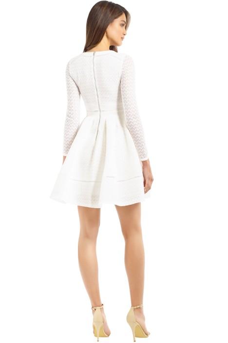 053ec91521b3 Rossignol Dress in White by Maje for Rent | GlamCorner