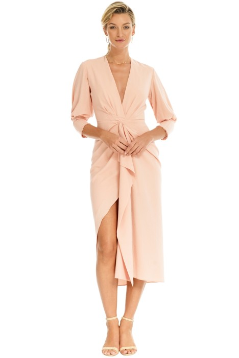 Manning Cartell - Free Fall Dress - Blush Pink - Front