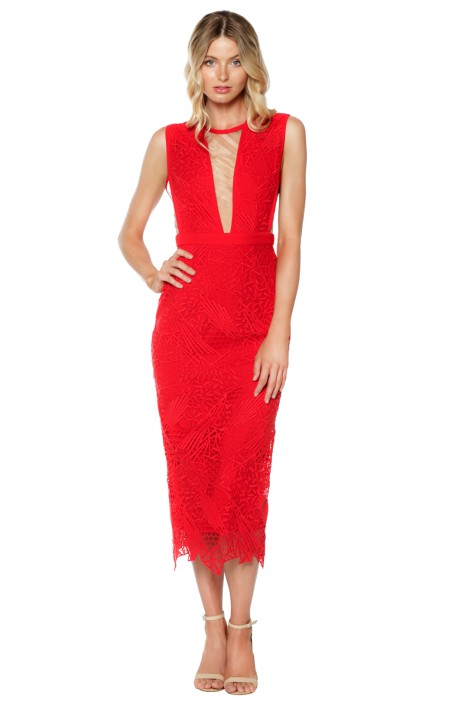 Manning Cartell - Gallery Views Sheath Dress - Scarlet - Front