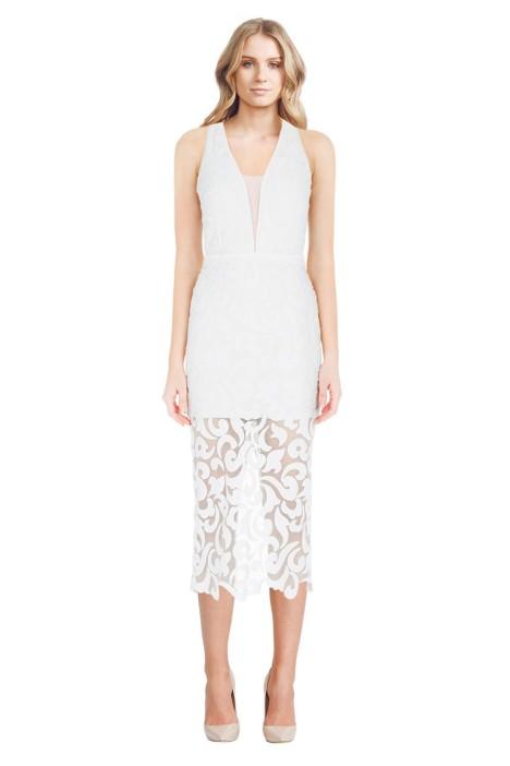 Manning Cartell - Mod Girls Sheath Dress - White - Front