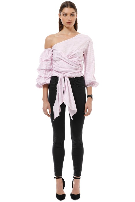Maurie and Eve - Gabine Blouse - Pink - Front
