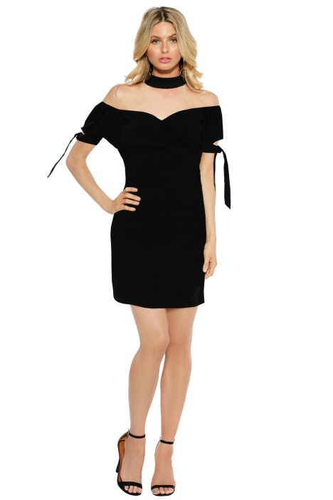 Maurie & Eve - Elia Dress - Black - Front