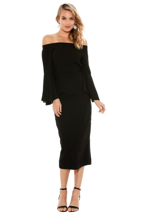 Maurie & Eve - Lucy in the Sky Dress - Black - Front