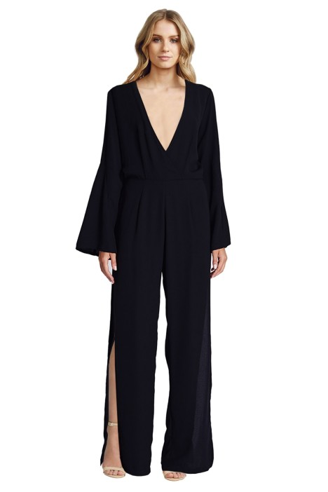 Maurie & Eve - The Runaway Jumpsuit - Black - Front