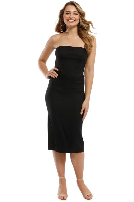 Milly - Eva Dress - Black - Front